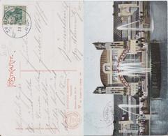 DR Germania Mi 85 Klass Sonderstempel Zwickau Ausstellungsplatz Kte 1906 - Machine Stamps (ATM)