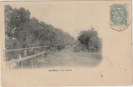 La Fère-Le Canal-Péniches   - ( E.6406) - Other Municipalities