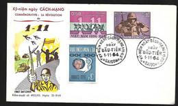 Vietnam FDC  01 11 1964 Commémoratifs La Révolution Du 01 11 - Vietnam