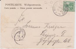 DR Germania Mi 70 Klass Sonderstempel Dresden Ausstellung Kte 1903 - Machine Stamps (ATM)