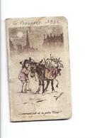 CALENDRIER DE POCHE - 1932 Germaine Bourret 6,5 X 5 - Petit Format : 1921-40
