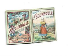CALENDRIER DE POCHE - 1898 - 1899 Dpt 63 LA BOURBOULE 5,4 X 4 - Petit Format : ...-1900