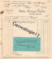 75 23889 PARIS SEINE 1907 Machines Agricoles MASSEY - HARRIS Machine Agricole Avenue Jean Jaures Dest TAYAC De TANUS - Landbouw