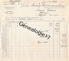 75 23891 PARIS SEINE 1926 Machines Agricoles MASSEY - HARRIS  Avenue Jean Jaures Dest TAURON Ou TAURAN De LAUZERTE - Landbouw