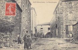 43 - (Haute-Loire) - ALLY - La Rue Principale - Sonstige Gemeinden
