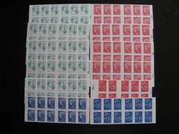 TB Lot De Timbres De France, TVP Rouges, Verts Et Bleus, Neufs XX . Faciale = 175,€  (surtaxes Non Compées). - Collections (without Album)