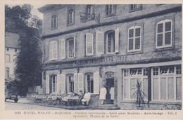 57 SAINT-QUIRIN L'HOTEL WOLFF - Altri Comuni