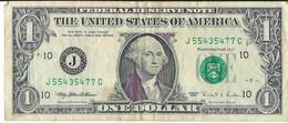 STATI UNITI - UNITED STATES - 1 US $ 1 DOLLARO  WASHINGTON  WYSIWYG  - N° SERIALE J55435477C - CARTAMONETA - PAPER MONEY - Other
