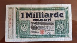 Deutschland / Germany Notgeld 1 Milliarde Mark 1923 Duisburg - [11] Emissions Locales
