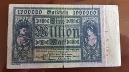 Deutschland / Germany Notgeld 1 Million Mark 1923 Thyssen Hütte  Lohberg - [11] Emissions Locales