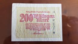 Deutschland / Germany Notgeld 200 Millionen Mark 1923 Sterkrade - [11] Emissions Locales