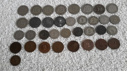 35 X Reichspfennig Deutsches Reich Kaiserreich 10 - 5 - 2 U. 1 Pfennig Stücke - 1914-18