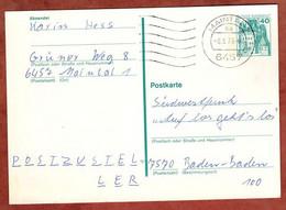 Ganzsachenpostkarte, Burg Eltz, MS Welle Maintall, 1978 (4878) - Cartes Postales - Oblitérées