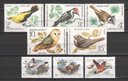 Sovjet Union - 2 MNH Sets BIRDS - DUCKS - Patos