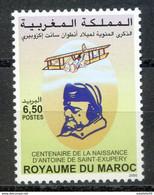 "Maroc, 2000 ; TP 1272 ; Centenaire De La Naissance De Saint Exupéry ;Neuf**,MNH ""Morocco;Marruecos - Marokko (1956-...)"