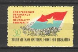 Vietnam (Vietcong) 1968 Mi 22 MNH - Vietnam