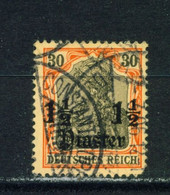 GERMAN PO'S IN TURKEY  -  1905 Germania Deutches Reich Definitive 11/2p On 30pf Used As Scan - Offices: Turkish Empire