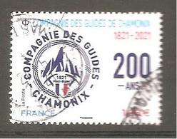 FRANCE 2021 Y T N ° 5??? Oblitéré CACHET ROND Compagnie Des Guides De CHAMONIX - Gebruikt