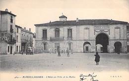 34 - MARSILLARGUES : L'Hotel De Ville Et Les Halles - CPA Village ( 1.720 H ) Hérault - Autres Communes