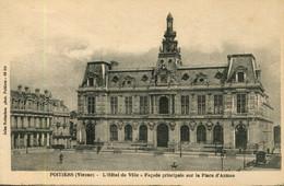 CPA - POITIERS - HOTEL DE VILLE - FACADE PRINCIPALE - Poitiers