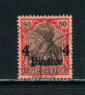 GERMAN PO'S IN TURKEY  -  1905 Germania Deutches Reich Definitive 4p On 80pf Used As Scan - Offices: Turkish Empire