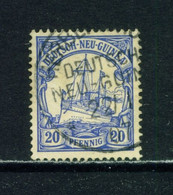 GERMAN NEW GUINEA  - 1900 Yacht Definitive 20pf Used As Scan - Colony: German New Guinea