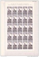 España Nº 1258 En Pliego De 25 Sellos - 1951-60 Ungebraucht