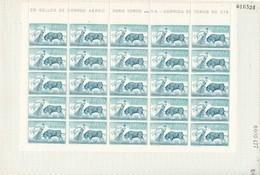 España Nº 1267 En Pliego De 25 Sellos - 1951-60 Ungebraucht