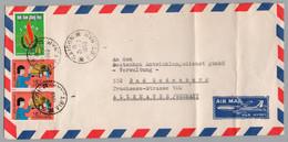 VIETNAM - SAIGON / 1969 LETTRE AVION POUR L'ALLEMAGNE  (ref 8464) - Vietnam