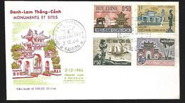 Vietnam  FDC 02 12 1964  Monuments Et Sites - Vietnam