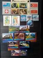NATIONS UNIES. NEW-YORK . 2007. N° 1020 à 1055 + Blocs 25.26 . NEUFS SANS Charnières  . Côte YT 2017 : 53,90 € - Nuevos