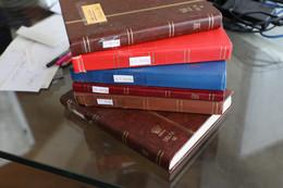 MON DENTIER. Six Classeurs Pleins De Timbres Arrangés Par Pays Et Années. Joli Pas Cher.  190 Pages Pleines De Timbres - Zonder Classificatie