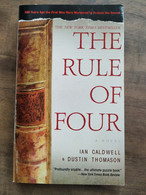 Dustin Thomason, Ian Caldwell: The Rule Of Four/ Dell Book, 2005 - Other