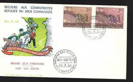 Vietnam  FDC   20 07 1966  Secours Aux Compatriotes Réfugiés - Vietnam