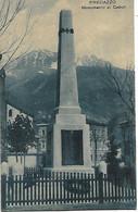 DP976 - PREDAZZO - VAL DI FIEMME - MONUMENTO AI CADUTI - F.P. VIAGGIATA 1929 - Andere Städte