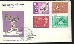 Vietnam  FDC   14 12 1965 Culture Physique Et Sports - Vietnam