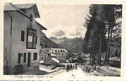 DP873 - TESERO - ALBERGHI IN STAVA - VAL DI FIEMME - F.P. VIAGGIATA 1940 - Andere Städte