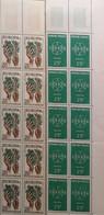 Yvert Europa1122-1218  ** Bandes De 10 Bord De Feuille Neuf Avec Gomme - Unused Stamps