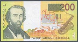 Ref. 7365-7872 - BIN BELGIUM . 1995. BELGIUM 200 FRANCS 1995 - Unclassified