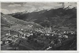 DP874 - TESERO - VAL DI FIEMME AFFRANCATURA MARCIA SU ROMA 10 CENT - F.P. VIAGGIATA 1933 - Andere Städte