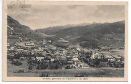 DP875 - TESERO - VAL DI FIEMME - F.P. VIAGGIATA 1937 - Andere Städte