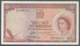 Ref. 6450-6956 - BIN RHODESIA . 1961. RODESIA 1961 10 SHILLINGS - Rhodesia
