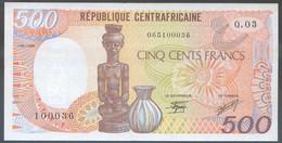 Ref. 6406-6912 - BIN CENTRAL AFRICAN REPUBLIC . 1989. REPUBLICA CENTROAFRICANA 1989 500 FRANCS - Central African Republic