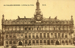 CPA - VALENCIENNES - HOTEL DE VILLE - Valenciennes