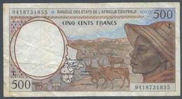 Ref. 5611-6116 - BIN FRENCH EQUATORIAL AFRICA . 1994. ETATS DE L'AFRIQUE CENTRALE 500 FRANCS 1994 - Cameroon