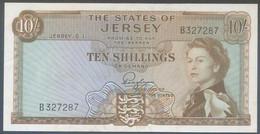 Ref. 4918-5421 - BIN JERSEY . 1963. JERSEY 10 SHILLINGS 1963 - Jersey