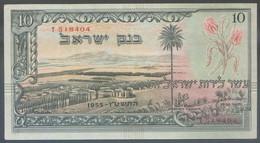 Ref. 4876-5379 - BIN ISRAEL . 1955. ISRAEL 10 LIROT 1955 - Israël
