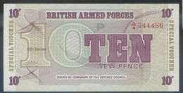 Ref. 4201-4704 - BIN GREAT BRITAIN . 1972. BRITISH ARMED FORCES 10 NEW PENCE 1972 - British Armed Forces & Special Vouchers