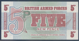Ref. 4200-4703 - BIN GREAT BRITAIN . 1972. BRITISH ARMED FORCES 5 NEW PENCE 1972 - British Armed Forces & Special Vouchers