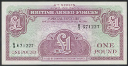 Ref. 4199-4702 - BIN GREAT BRITAIN . 1962. BRITISH ARMED FORCES 1 POUND 1962 - British Armed Forces & Special Vouchers